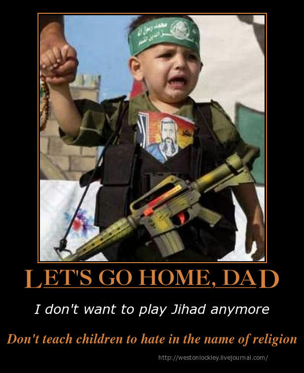 Jihad Hate Religion Children